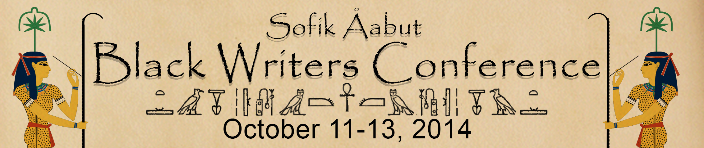 Sofik Aabut Black Writers Conference,